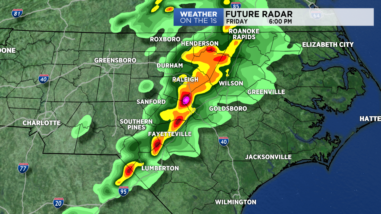 Severe Storms Possible Friday Afternoon