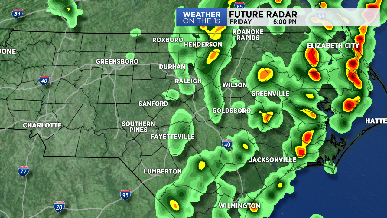 A Few Strong Storms Possible Friday