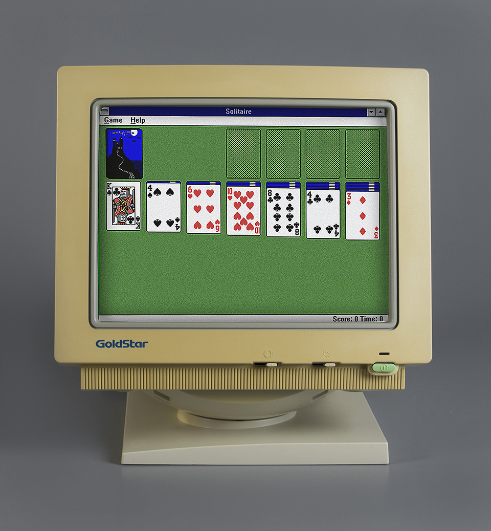 Microsoft Solitaire - courtoisie d'image: Strong National Museum of Play