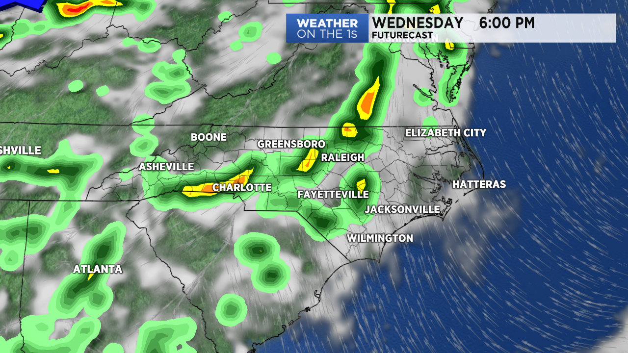 Unsettled Weather Pattern Begins Wednesday