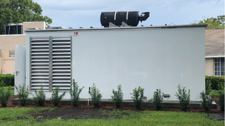 Pinellas Park Nursing Home Now in Compliance With 2017 Generator Law