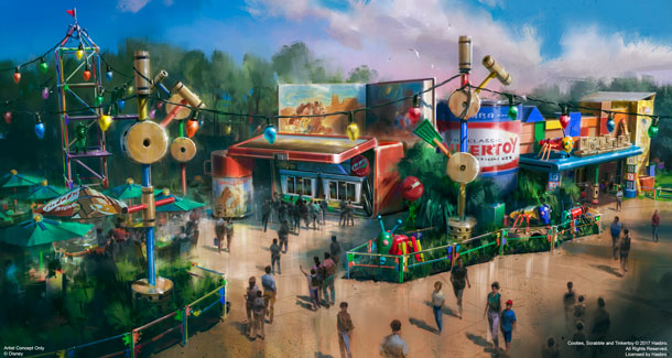 Disney announces opening date for 'Toy Story Land'