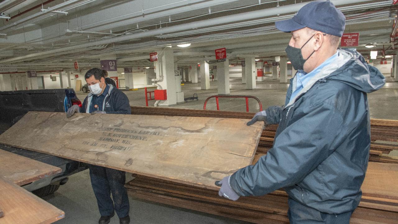 Rare Wisconsin wood will help repair Capitol